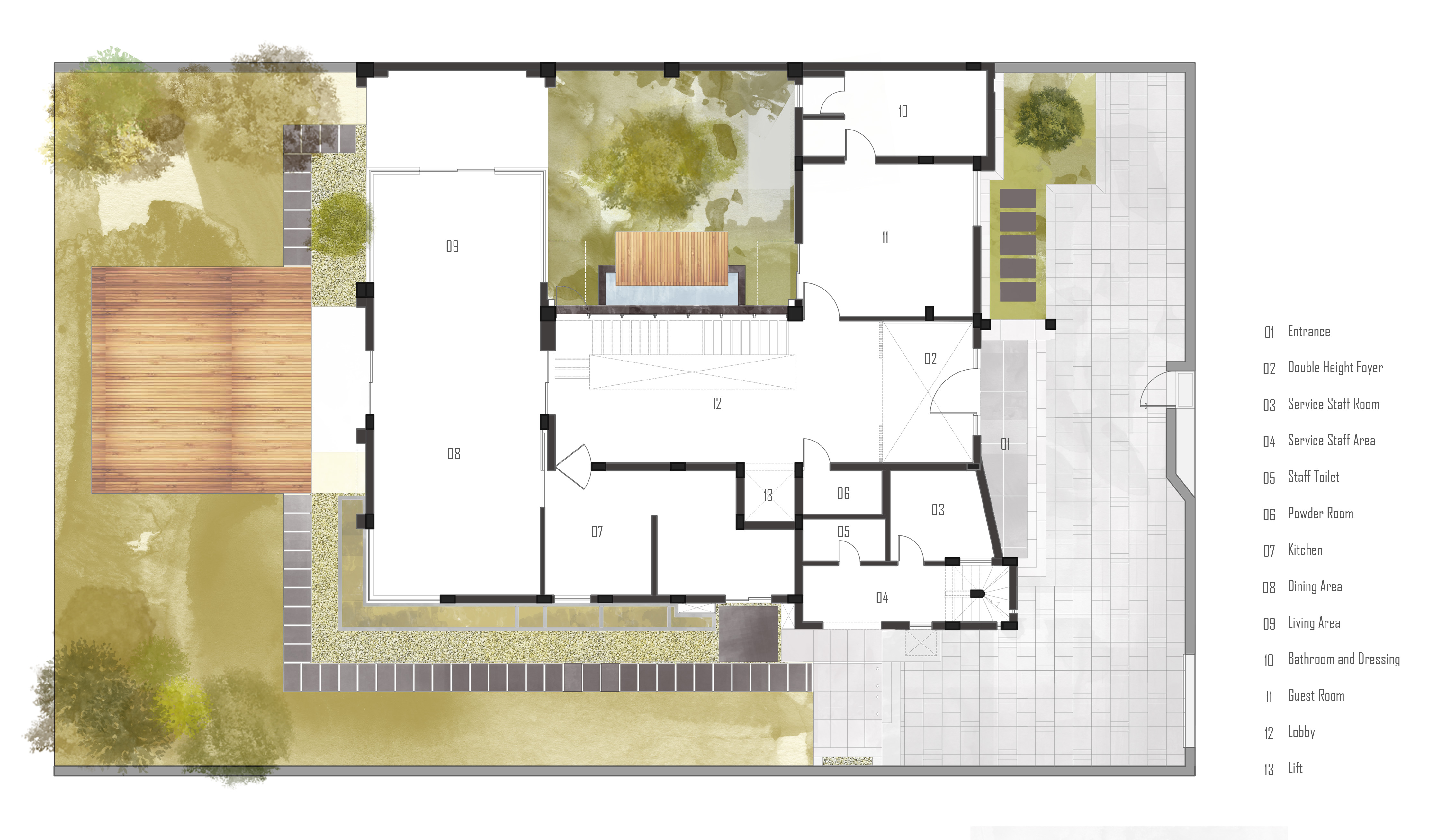 Grover Landscape Plan